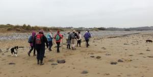 Crossing Traeth yr Afon