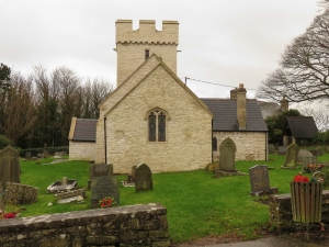 St Curig's Church Porthkerry