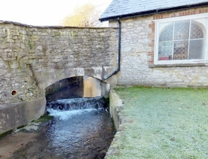 Factory Brook near the ford
