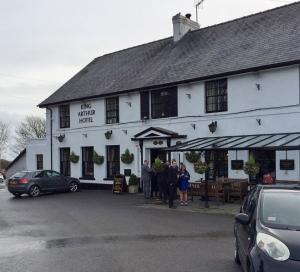 Lunch spot the pub