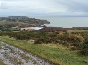 Three Cliff Bay on way back