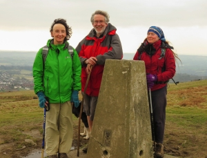 Garth Hill trig point