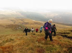 Climbing at Pant y Creigiau