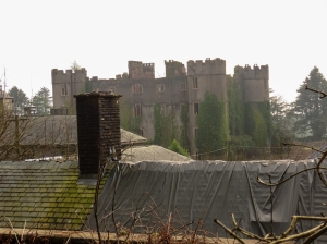 Ruined Ruperra Castle