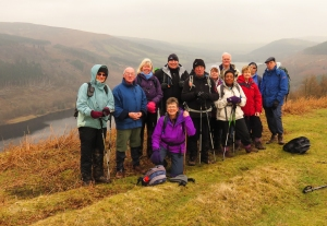Above Talybont Reservoir