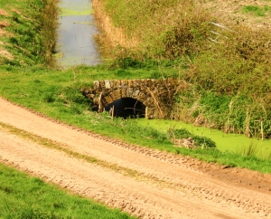 Stone bridge giving access to fields
