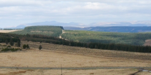 View to Beacons from Tylorstown Tip