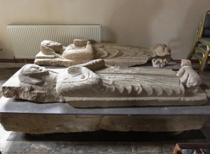 Effigies St Mary the Virgin Church English Bicknor