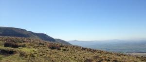 Escarpment towards the Central Beacons