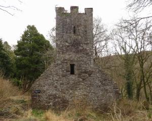 Ruined church at Vaynor