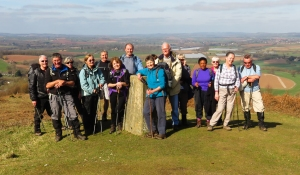 Group on Coppet Hill