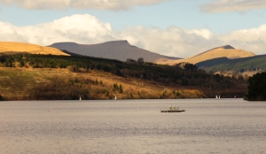 Central Beacons from Pontsticill dam