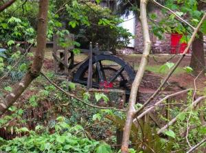 Gellylednais water wheel