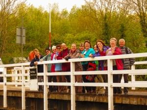Group on Rea Bridge