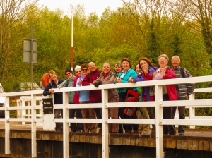 Group on Rea Bridge