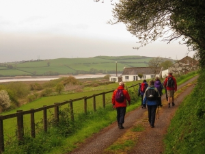 Tramping above the Afon Tywi