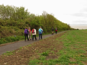 New path from Rhoose station