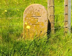 old waymarker stones