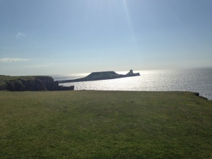 Worms head at the end of the walk