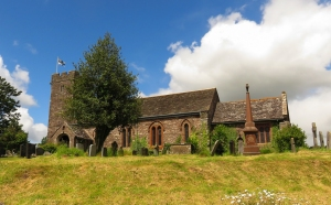 St Michael's and All Angels Llanvihangel Crucorney