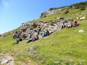 lunch above Mewslade