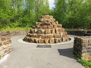 Monument to mining disaster