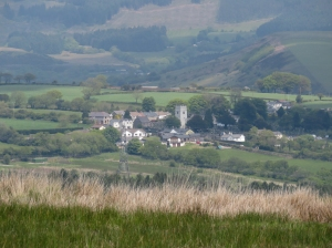 Overlooking Llangynwyd