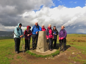 Trig point Garth Hill