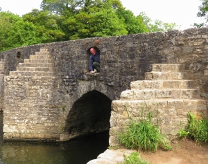 Will and the Dipping Bridge