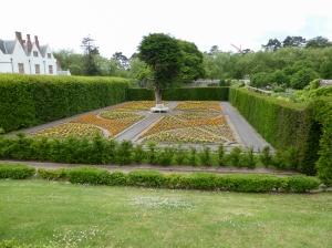 Italian garden at St Fagans