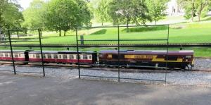 Miniature railway at Cyfarthfa Park