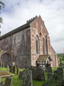 Abbey Dore churchyard