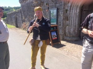 Piper at Tretower