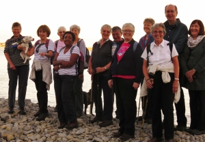 Group pic Porthkerry Bay