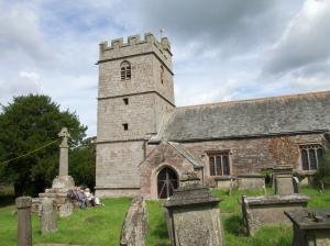 Cwmcarvan - St Clements Church