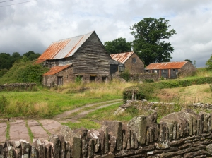 Old barns near St Magarets Church