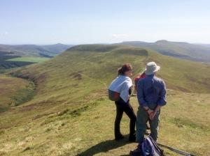 Up on the ridgeway
