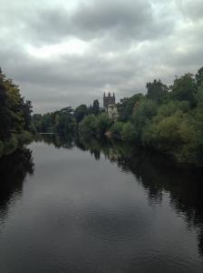 River Wye near Hereford