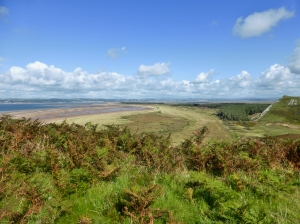 Whiteford Sands and Burrows and Lougher Estuary