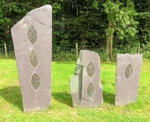 Stones at Golwg y Coed