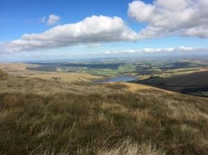 Overlooking Cray reservoir
