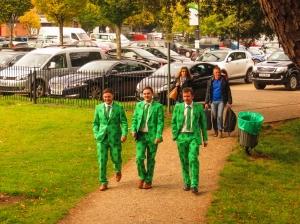 Irish rugby fans