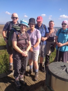 Group pic Aldbourne walk
