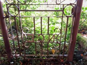 Gates at Dixton Church