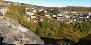 View from Cefn Coed Viaduct
