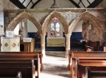Three arched rood screen St Mary's