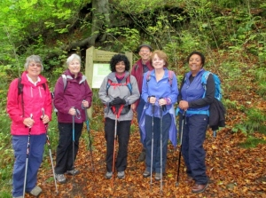 Group at Cwm Clydach reserve