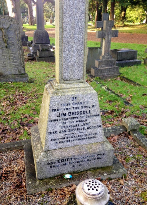 Peerless Jim Driscoll's Grave