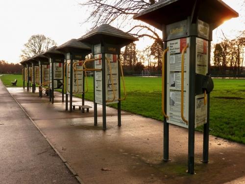 Outdoor gym Tredegar Park