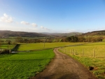 View down the Rhymney Valley